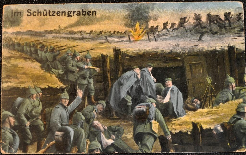 Ensimmäinen Maailmansota Saksa